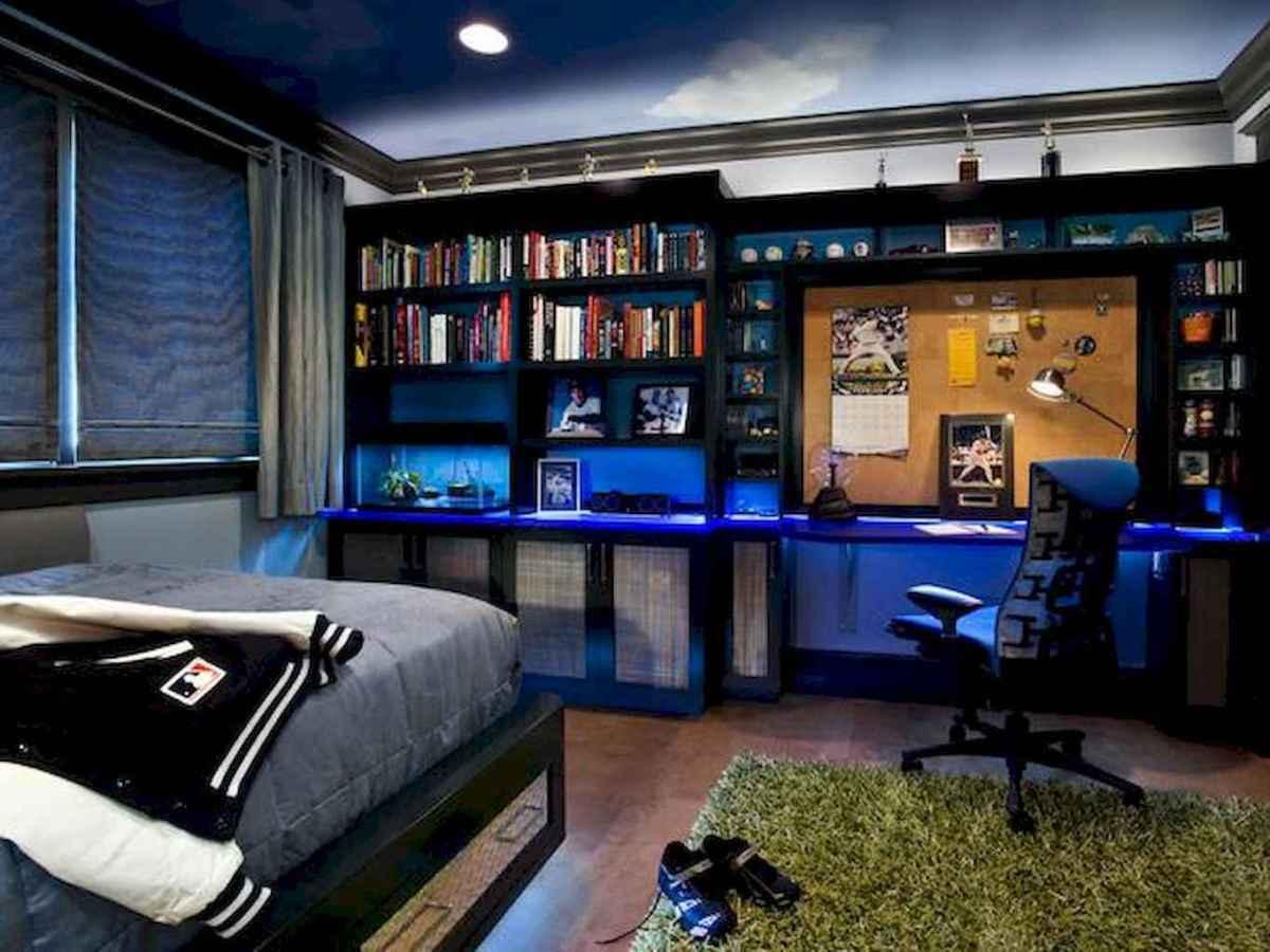 Cool sport bedroom ideas for boys (50)