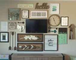 Gallery wall ideas bedroom (36)