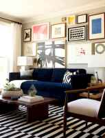Inspired gallery wall living room (2)