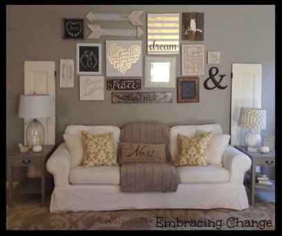 Inspired gallery wall living room (54)