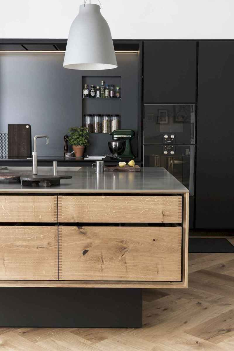Simply apartment kitchen decorating ideas on a budget (15)