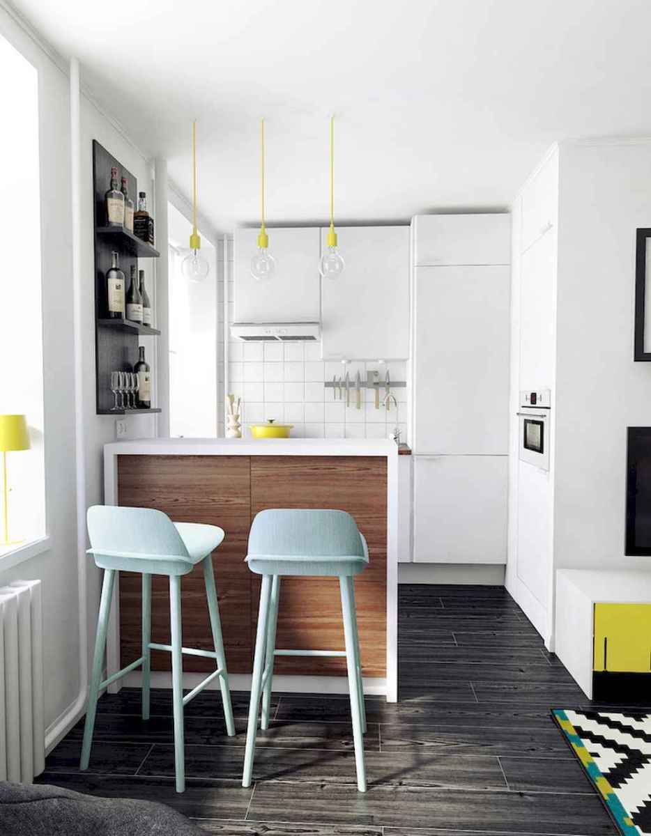 Simply apartment kitchen decorating ideas on a budget (28)