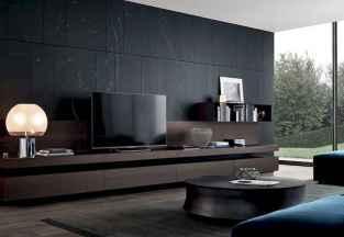 Unique tv wall living room ideas (20)