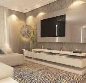 Unique tv wall living room ideas (25)