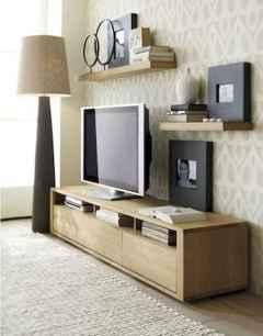 Unique tv wall living room ideas (35)