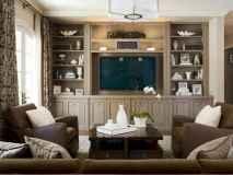 Unique tv wall living room ideas (42)