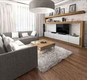 Unique tv wall living room ideas (47)