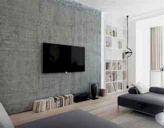 Unique tv wall living room ideas (55)