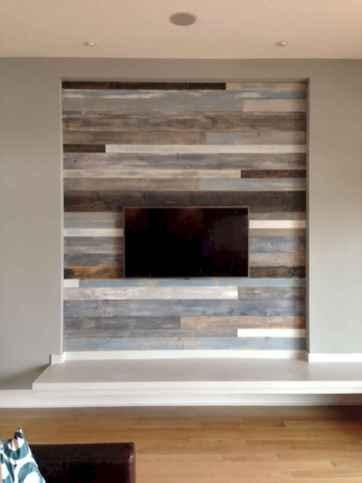 Unique tv wall living room ideas (8)
