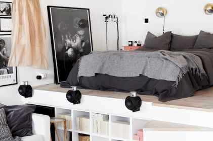 100 Awesome Apartment Studio Storage Ideas Organizing (76)