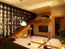 100 Awesome Apartment Studio Storage Ideas Organizing (91)