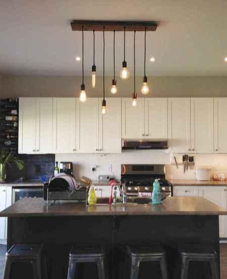 100 Rustic Farmhouse Lighting Ideas On A Budget (40)