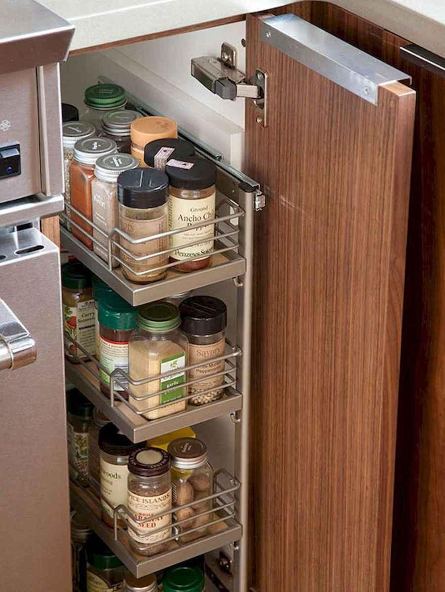 120 DIY Farmhouse Kitchen Rack Organization Ideas (122)