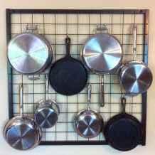 120 DIY Farmhouse Kitchen Rack Organization Ideas (24)