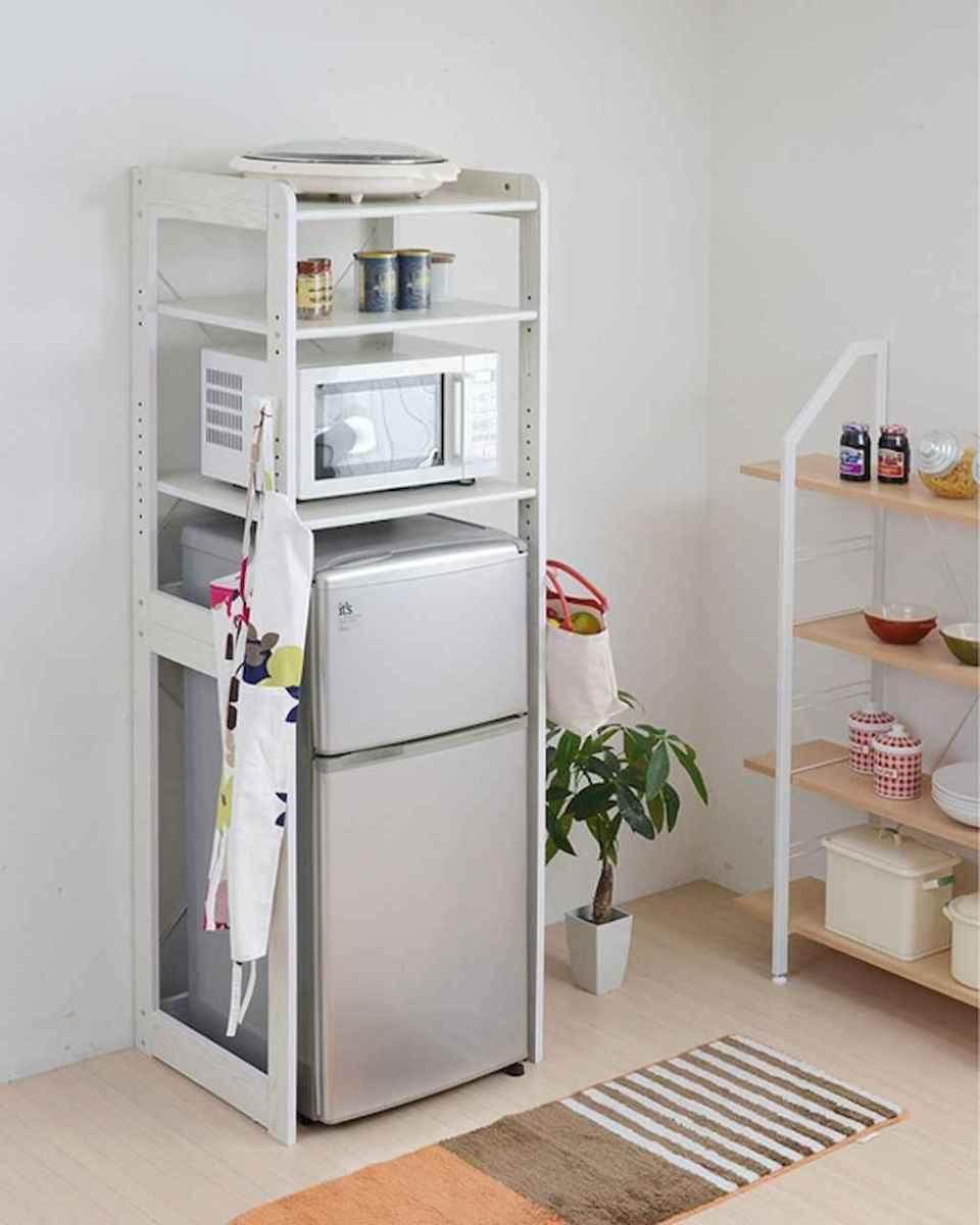 120 DIY Farmhouse Kitchen Rack Organization Ideas (25)
