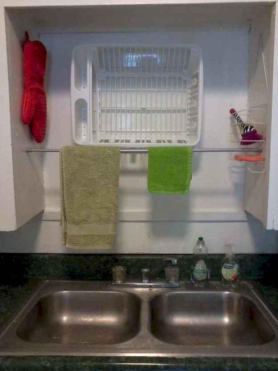 120 DIY Farmhouse Kitchen Rack Organization Ideas (27)