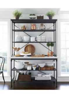 120 DIY Farmhouse Kitchen Rack Organization Ideas (31)