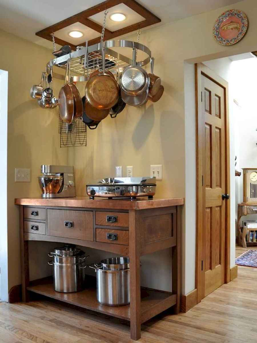 120 DIY Farmhouse Kitchen Rack Organization Ideas (36)