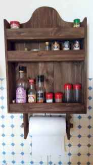 120 DIY Farmhouse Kitchen Rack Organization Ideas (45)