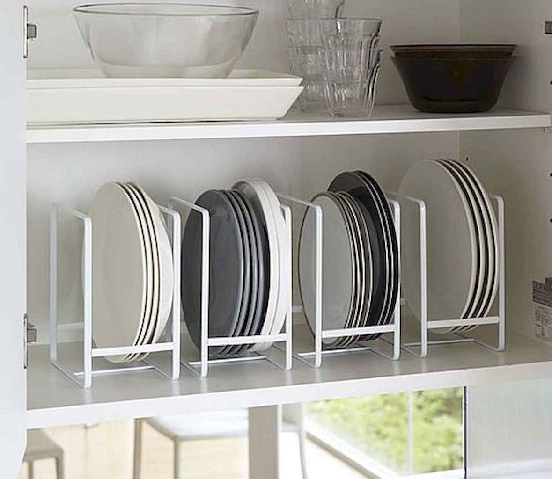 120 DIY Farmhouse Kitchen Rack Organization Ideas (54)