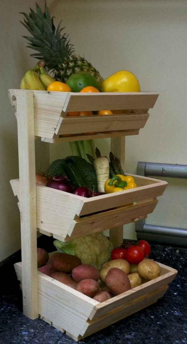 120 DIY Farmhouse Kitchen Rack Organization Ideas (69)