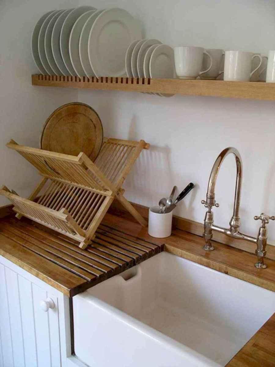 120 DIY Farmhouse Kitchen Rack Organization Ideas (70)