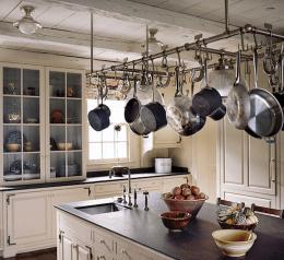 120 DIY Farmhouse Kitchen Rack Organization Ideas (74)