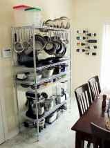 120 DIY Farmhouse Kitchen Rack Organization Ideas (76)