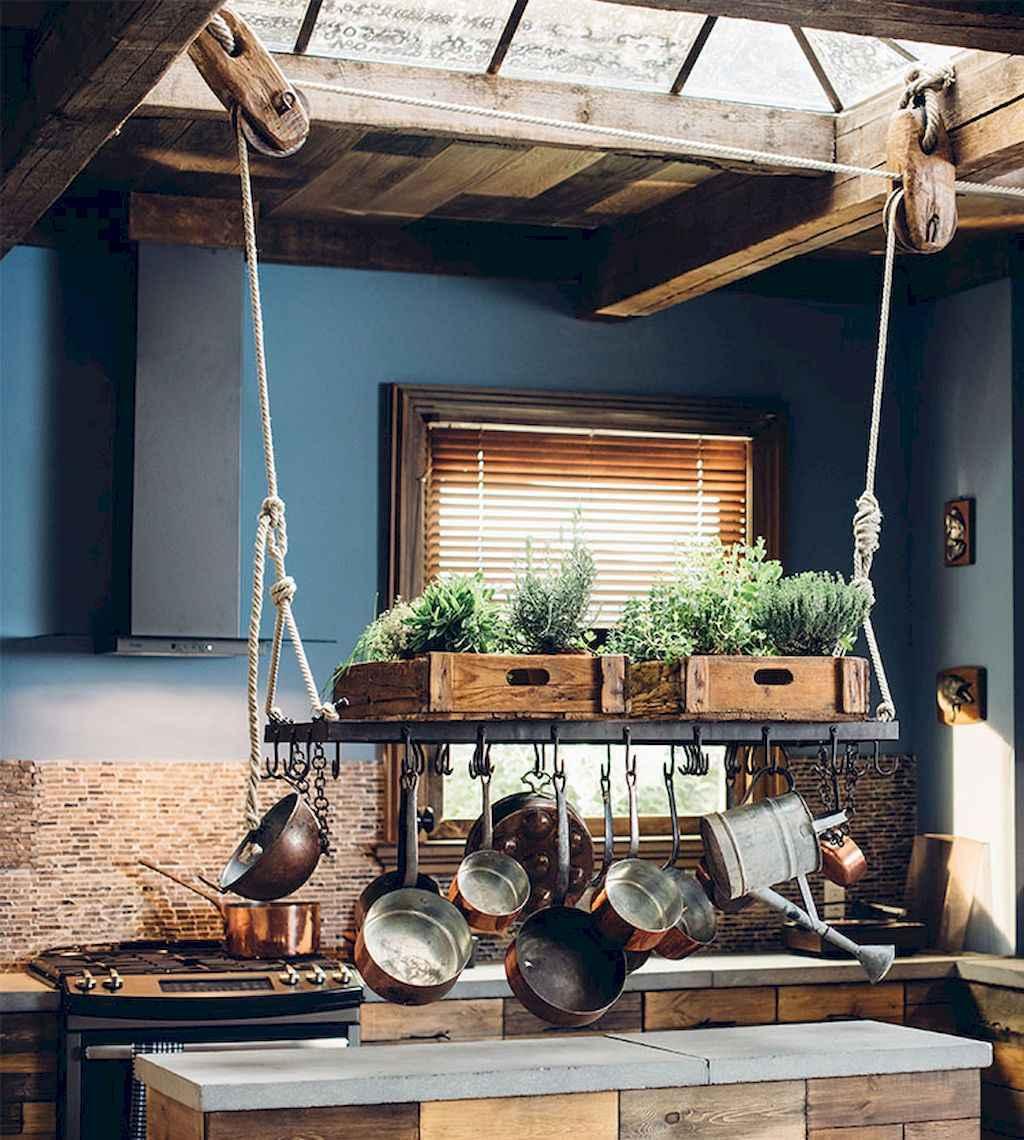 120 DIY Farmhouse Kitchen Rack Organization Ideas (83)