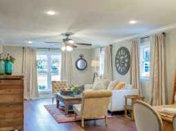 22 Cheap Farmhouse Curtains Ideas Decoration (13)