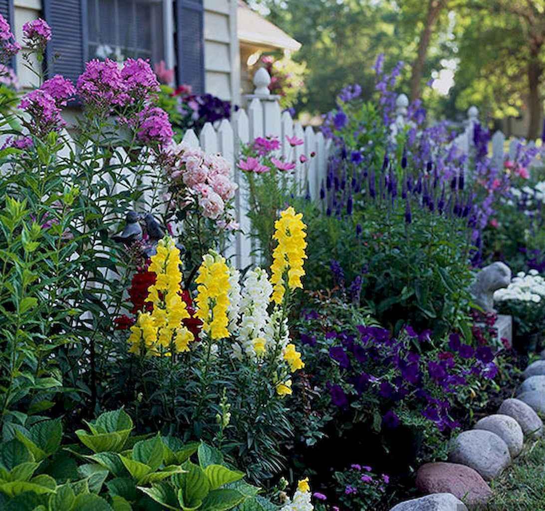50 cheap and easy flower garden ideas (15)