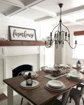 50 Modern Farmhouse Dining Room Decor Ideas (48)