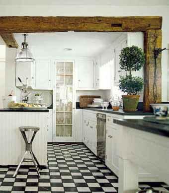 70 Tile Floor Farmhouse Kitchen Decor Ideas (12)
