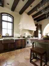 70 Tile Floor Farmhouse Kitchen Decor Ideas (15)