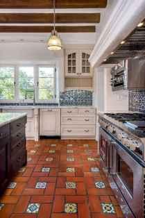 70 Tile Floor Farmhouse Kitchen Decor Ideas (19)