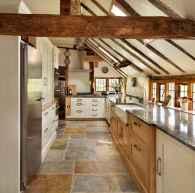 70 Tile Floor Farmhouse Kitchen Decor Ideas (48)