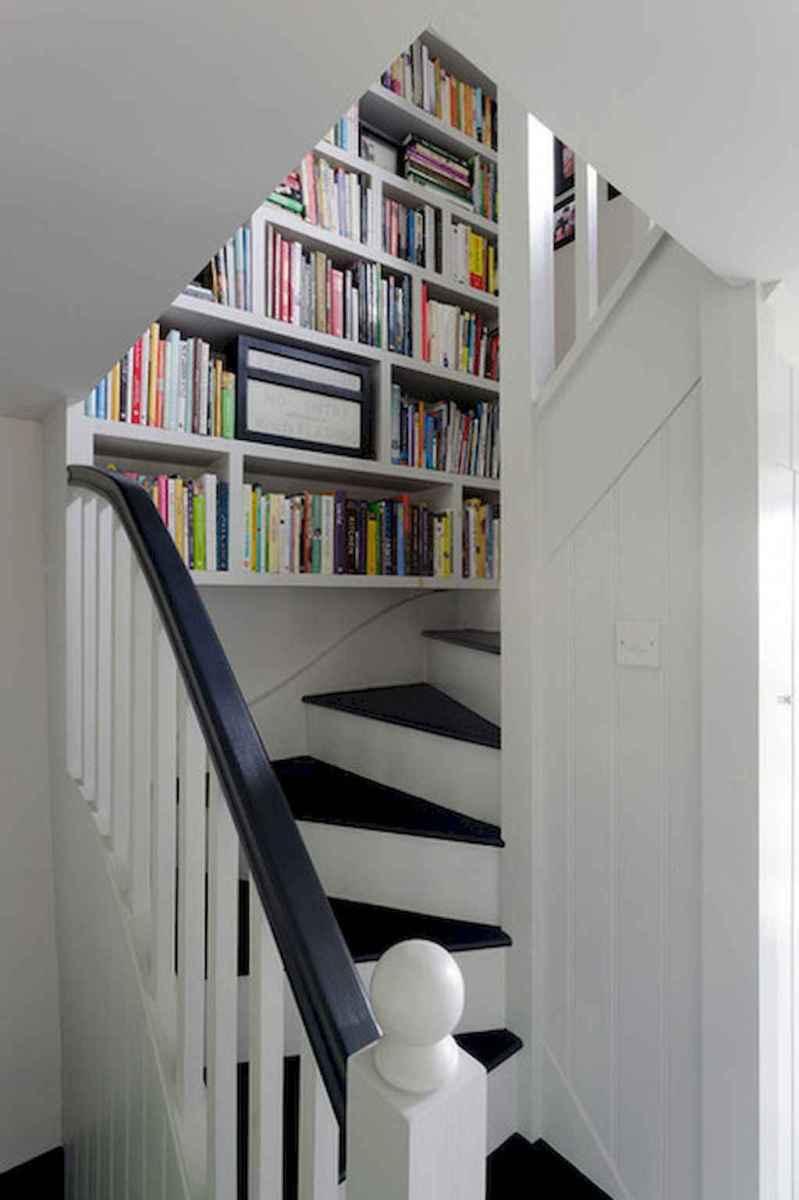 80 Modern Farmhouse Staircase Decor Ideas (1)