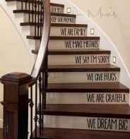 80 Modern Farmhouse Staircase Decor Ideas (10)