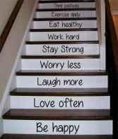 80 Modern Farmhouse Staircase Decor Ideas (11)