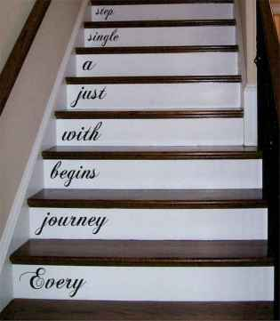 80 Modern Farmhouse Staircase Decor Ideas (13)