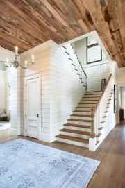 80 Modern Farmhouse Staircase Decor Ideas (20)