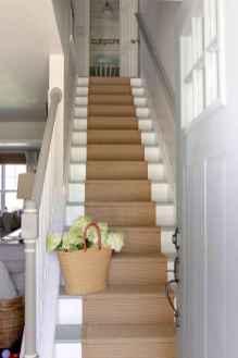 80 Modern Farmhouse Staircase Decor Ideas (38)