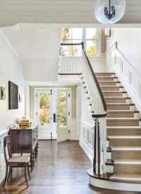 80 Modern Farmhouse Staircase Decor Ideas (5)