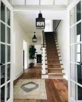 80 Modern Farmhouse Staircase Decor Ideas (50)
