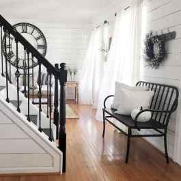 80 Modern Farmhouse Staircase Decor Ideas (52)