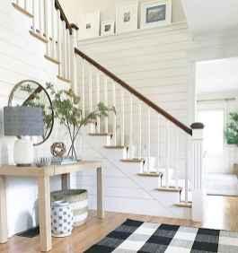 80 Modern Farmhouse Staircase Decor Ideas (53)