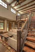 80 Modern Farmhouse Staircase Decor Ideas (59)