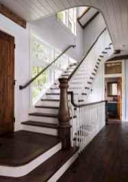 80 Modern Farmhouse Staircase Decor Ideas (66)