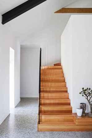 80 Modern Farmhouse Staircase Decor Ideas (75)