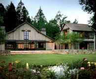 90 Modern American Farmhouse Exterior Landscaping Design (19)